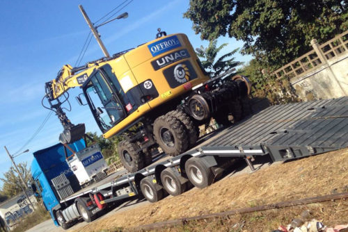 manutention industrielle engin chantier